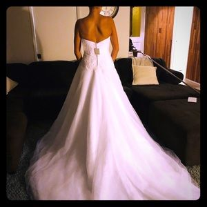 Brand new with tags size 4 wedding dress